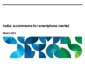 Study of e-commerce market for smartphones in India