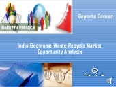 India electronic waste recycle mark...