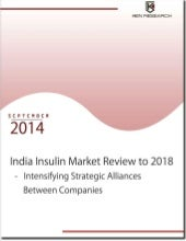 Latest Report - India insulin market review to 2018