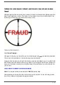 Indian income taxes refund and income tax return status fraud