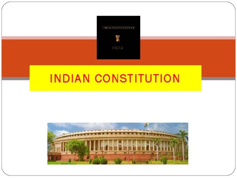 Indian Constitution Indian Constitution Rights