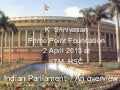 Indian parliamentary system