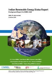 Indian Renewable Energy Status Report