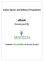 Indian Space and Defence Programmes
