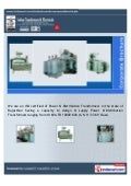 Indian Transformers & Electricals, Jaipur, Power Transformers