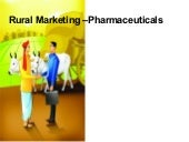 Rural Marketing – Pharmaceuticals