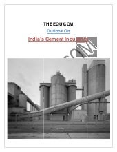 India's cement industries outlook