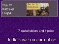 India's  war on corruption, The 1st battle of Lokpal