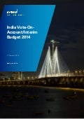 India Vote-on-Account / Interim Budget 2014