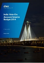 India Vote-on-Account / Interim Bud...