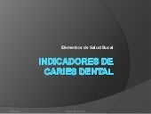 Indicadores De Caries Dental