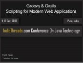 Groovy & Grails: Scripting for Mod...