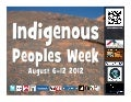Indigenous Peoples Week 2012