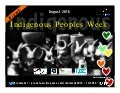 Indigenous Peoples Week 2016 #ipw6