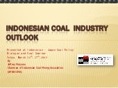 Indonesiacoal indutry outlook_english