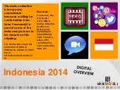 Indonesia digital overview 2014 data collection