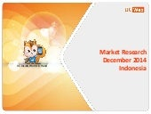 Indonesian Mobile Market Research Dec 2014