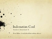 Indonesian coal 1