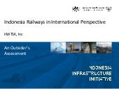 Indonesia railways in international...