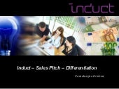 Induct   sales pitch