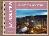 El sector industrial