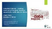 Industrial internet big data china market study