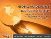 Automotive Industry Analysis of the...