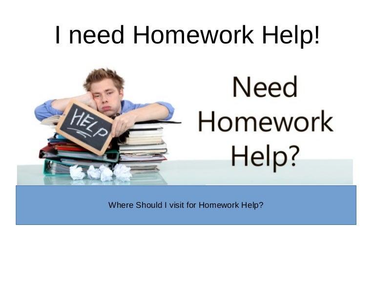I need help with homework