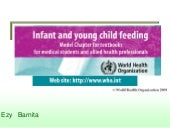Infant and young child feeding who ...