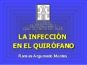 Infeccion en quirofano
