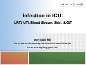Infection in ICU