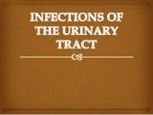 Infections of the urinary tract final