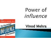 8 WEAPONS OF INFLUENCE