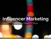 Why You Need An Influencer Marketing Program