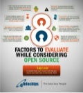 Infographics   8 factors to evaluate while considering open source