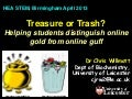 Treasure or Trash? Helping students distinguish online gold from online guff