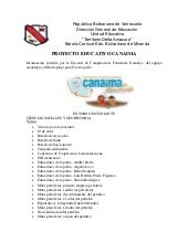 Informacion categorias 4to grado