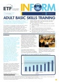 ETF Policy Briefing: Adult Basic Skills Training