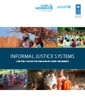 Informal Justice Systems: Charting ...