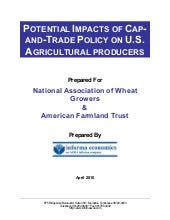 POTENTIAL IMPACTS OF CAPAND- TRADE ...