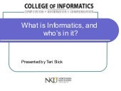 Informatics (Recruiting) Teri Slick