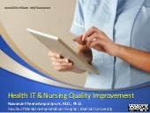 Health IT & Nursing Quality Improvement (February 4, 2016)