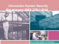 Information security services , isms ,qms,audits ,internal audits