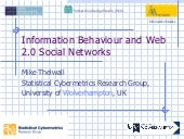 Information Behaviour And Web 2 0 S...
