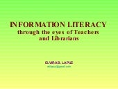 Information Literacy through the ey...