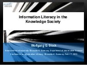 Information Literacy in the Knowled...