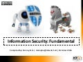 Information Security: Fundamental