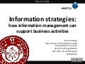 Information Strategies