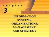 Information systems, organizations,...