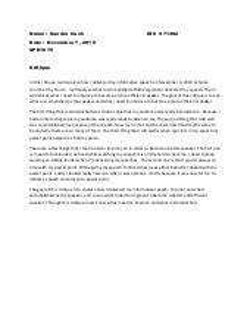 sample informative essay examples